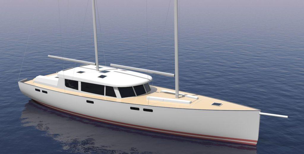 PILOT 1800 Sail Willem Nieland Design